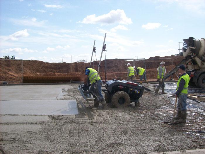 Concrete Floor Base