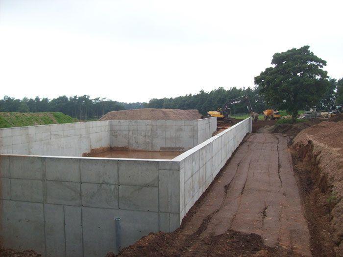 Muck Hole Construction