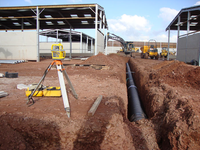 Groundworks to New Farm/Cattle Sheds