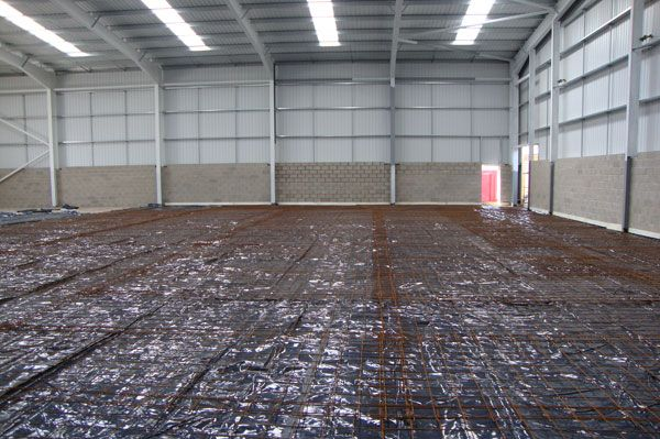 Floor Slab Preparation